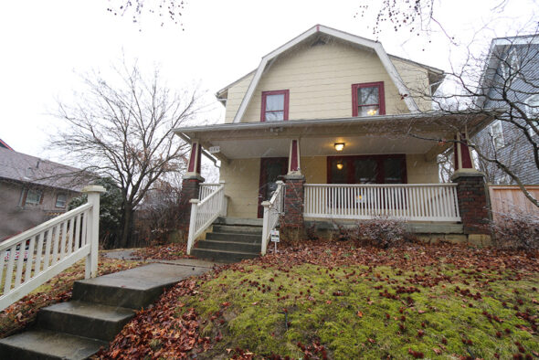 Dutch Colonial Revival Architecture In The Heart Of Clintonville